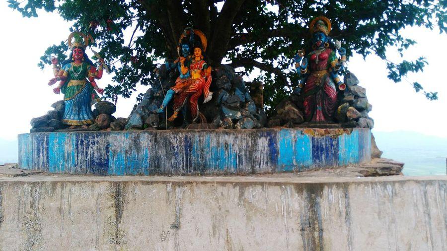 God & Goddesses Kept Under Tree