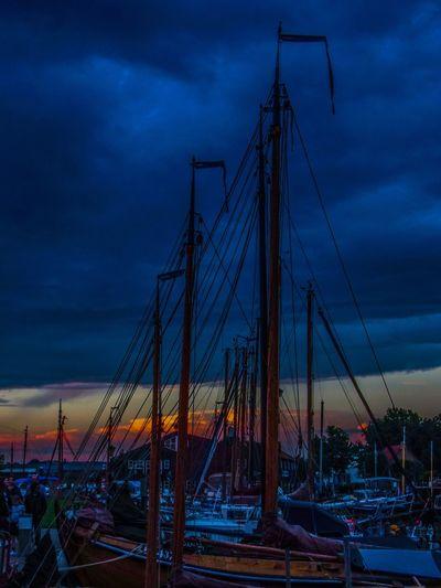 Sky Cloud - Sky No People Harbor Water Nature Dramatic Sky Sunset EyeEm Selects EyeEmNewHere