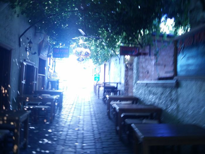 Alley Blurry