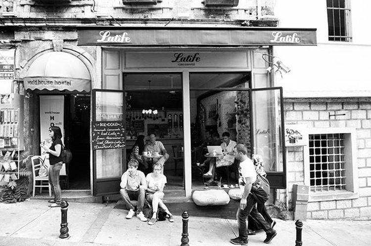 Istanbul Turkey Türkiye Blackandwhite Beyoğlu Cafe Latife Türkkahvesi Turkishcoffee The Street Photographer - 2017 EyeEm Awards Your Ticket To Europe Adventures In The City