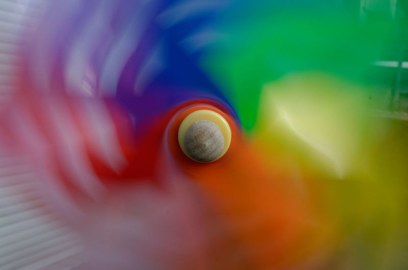 Wind Wheel Close-up Colorful Day No People Pin Wheel Selective Focus Speed Turning Wind
