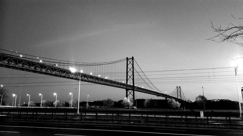 Ponte 25 De Abril Built Structure Outdoors No People Sky City