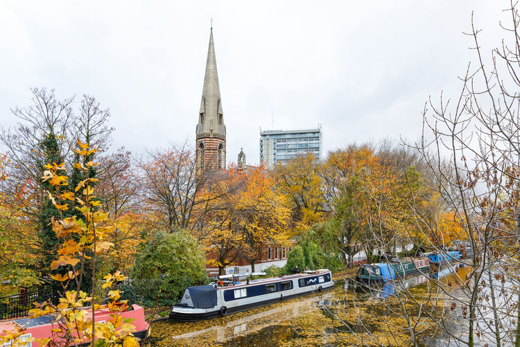 Autumn in London Plant Tree Architecture Built Structure Autumn Mode Of Transportation Building Exterior Transportation Nature Change Place Of Worship Car Motor Vehicle Day Religion Building Belief Sky No People Outdoors Spire  London Travel Destinations Travel Photography Autumn Autumn Mood