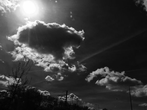 Blackandwhite Photography Sky And Clouds