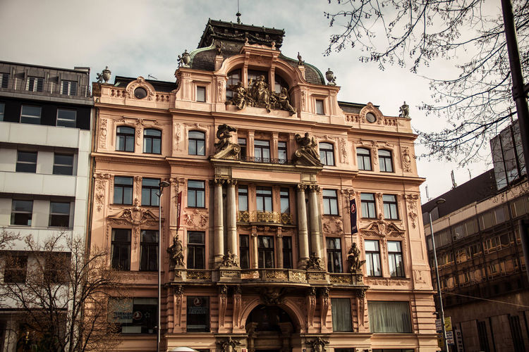 Art Beautiful Love Prague Quality Time Architecture Building Exterior Built Structure City Day History Low Angle View No People Outdoors Sky Travel Destinations Tree Window