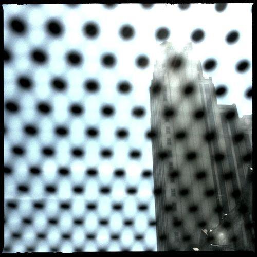 Deco Building in Richmond at Richmond No Flash Blanko Noir Film Deco Building In Richmond