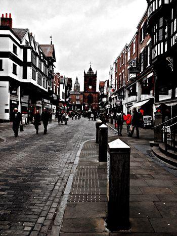 Saturday stroll on Bridge Street