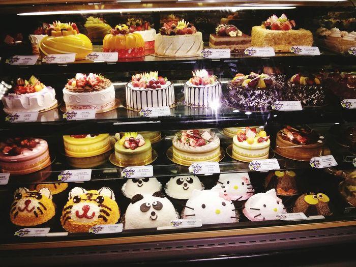 Whowantstoeat Cake♥ Kawaii♡ Check This Out Delicious Tasty😋 Animalcake Chocolate Cake Cakeswithfruits HelloKittyCake