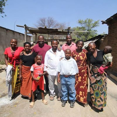 The Ng'alla family in Iringa in a small village called Izazi. Tanzania MyAfricanVacation Origins