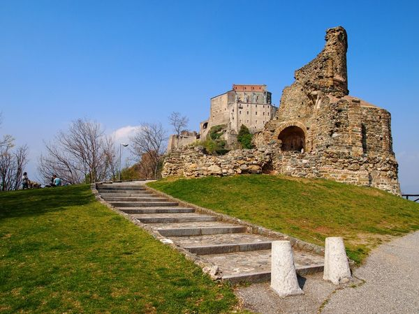 Val di Susa, Italy Valdisusa Grass Outdoors Enjoying Life Tranquil Scene Peace Monastery Springtime Beauty In Nature Alps Landscape Nature Colors Sunny Architecture Ruins Medieval History Italy Sky Composition Past EyeEm Best Shots EyeEm Nature Lover EyeEm Gallery The Architect - 2017 EyeEm Awards