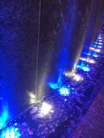 Illuminated Lighting Equipment Night Blue No People Indoors  Music Close-up Water Copyspace