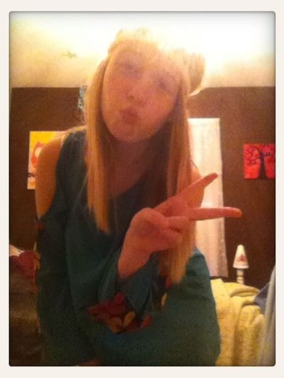 For those of you who said I looked like a hippie today...✌