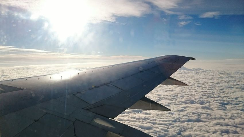 Plane Wing Sky Photography Clouds & Sky