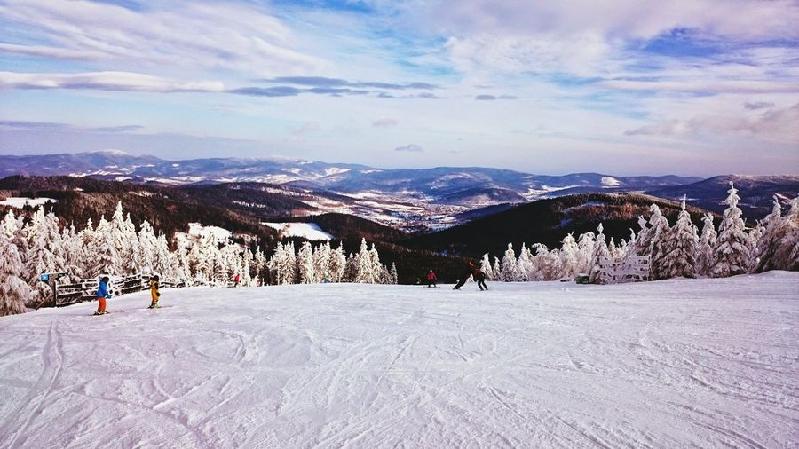 Snow Sports Winter Mountain Cloud - Sky First Eyeem Photo