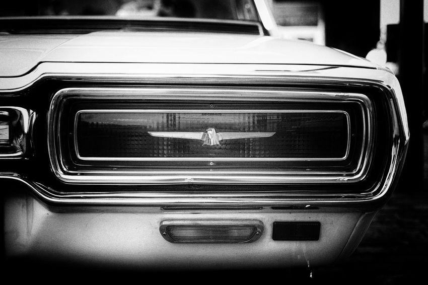 Vintage Oldtimer Classic Monochrome Cars Thunderbird EyeEm Best Shots Leica_camera