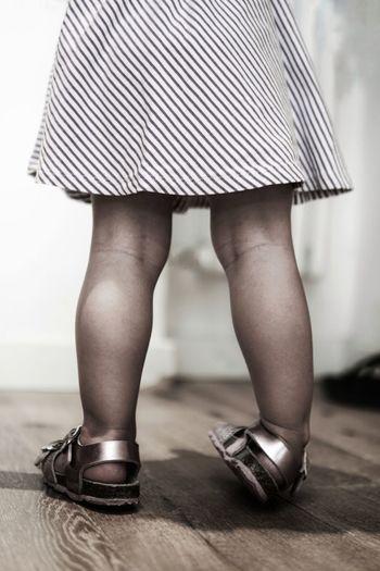 baby 's legs