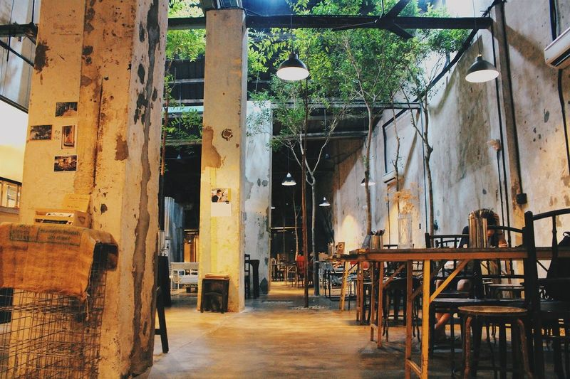 Dramatic Angles Cafe Interior Cafe Hopping Food Hunt Awesome Canteen. Sekepingvictoria Georgetown Penang Malaysia