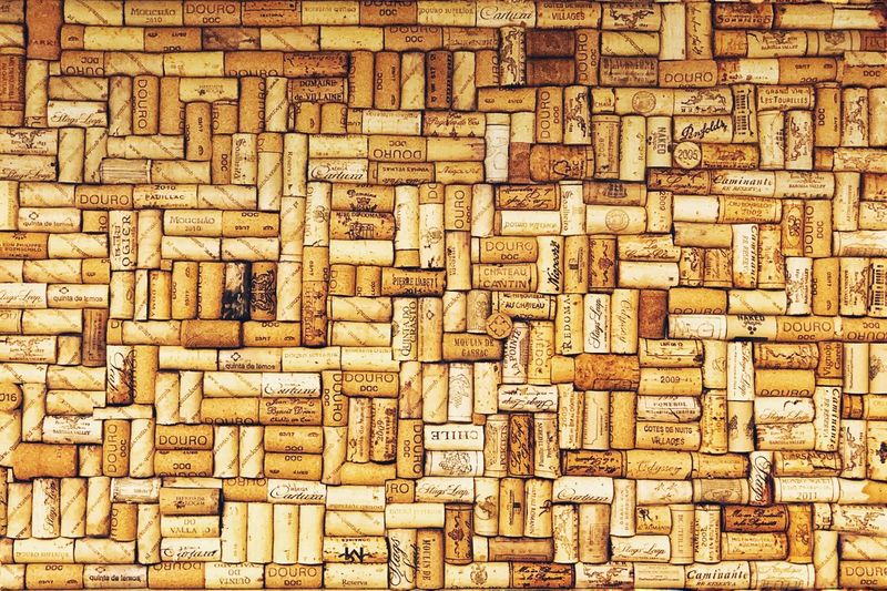 Wine Warm Textures and Surfaces Textured  Wine Cork Wine Cork Full Frame Pattern Backgrounds No People Indoors  Design Textured  Art And Craft Creativity Close-up Repetition Large Group Of Objects Wall - Building Feature Shape Brown Square Shape Craft