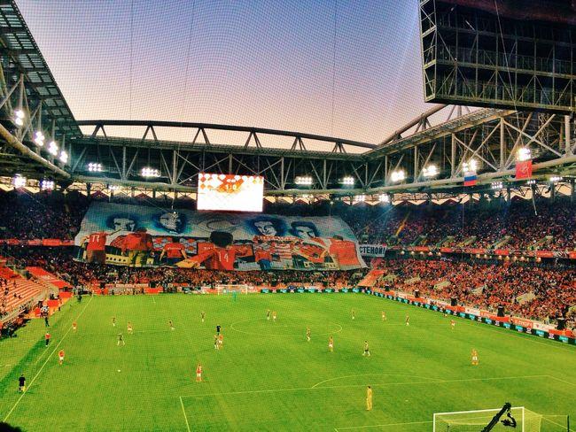 стадион Спартак Fcsm Spartak Moscow Spartak
