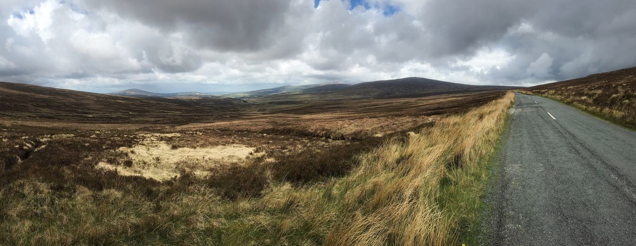 Landscape Panorama Ireland Clouds And Sky IPhoneography Mobilephotography Snapseed Highlands The Great Outdoors - 2016 EyeEm Awards Fine Art Photography