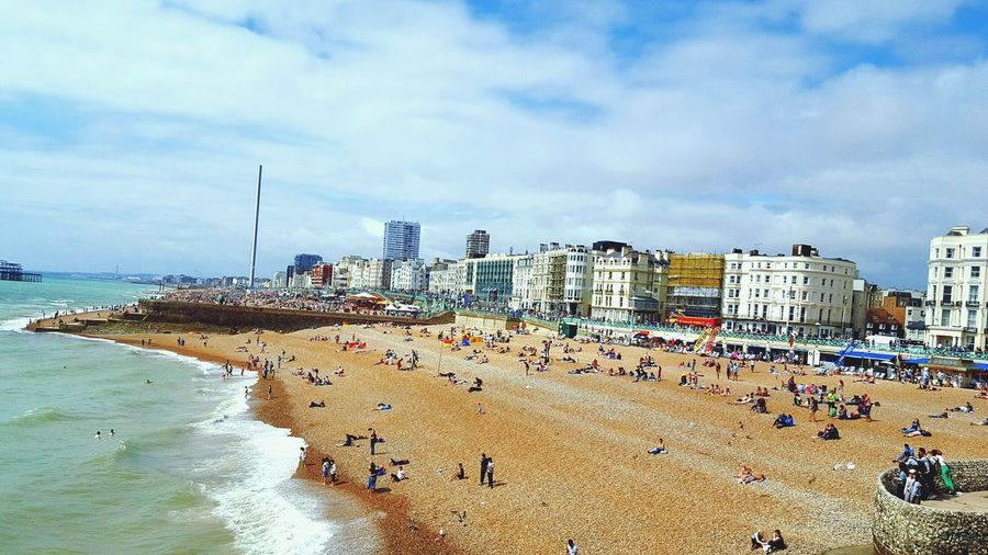 One fine summer day at Brighton Beach Sand Sea Vacations Summer Water Travel Destinations Nature Travelingram Travelphotography Vscouk VSCO Travelingtheworld  Beauty In NatureOutdoors Londonlife LONDON❤ London Lifestyle London Calling Vscocamphotos Beautiful Place Londonthroughmycam Live For The Story
