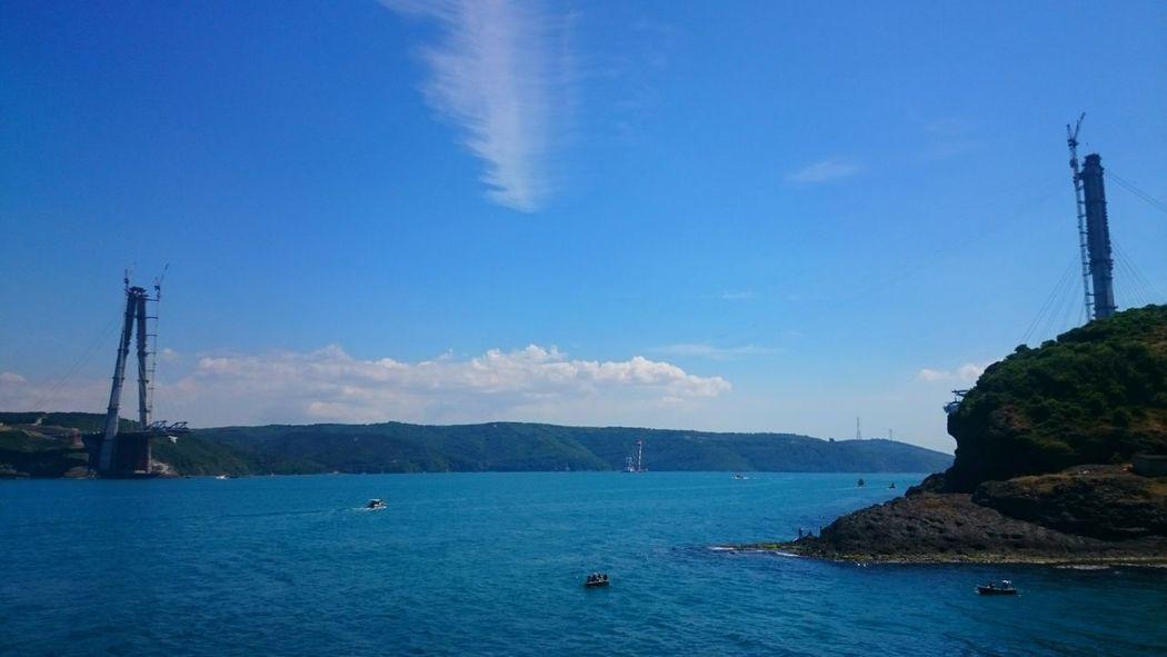 Türkiye Istanbul Sarıyer Rumeli Hisarüstü Garipçe Köyü Sony Xperiaz2 Fotography Beautiful ♥ Sea
