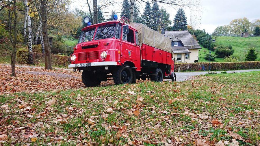 Fire Engine Feuerwehr Robur Lo Einsatzfahrzeug Löschgruppenfahrzeug Fire Red Outdoors Retten Bergen Löschen Schützen