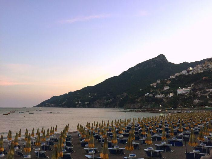Italia Italy Campania Salerno Vietrisulmare Mare Sea Landscape Beach