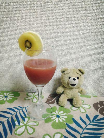 """カクテル「大井町のよどんだ夕陽」 Cocktail """"the stagnant setting Sun in Oi-machi"""" Cocktail Enjoying Life Relaxing"""