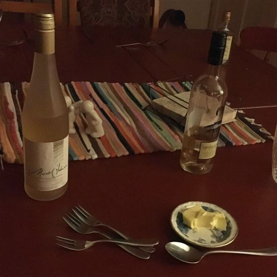 The End Of The Day Still Life Dinner With Friends End Of The Evening Clean Up Time For Bed