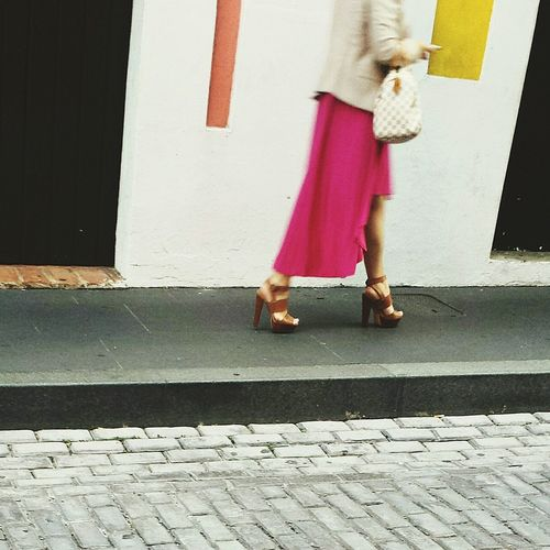 Pastel Power My View Walking Around The City  Open Edit Pattern Pieces I Love Shoes People Walking  New Years Resolutions 2016 is to be more empower and go foward in life Individuality My Favorite Photo Chance Encounters