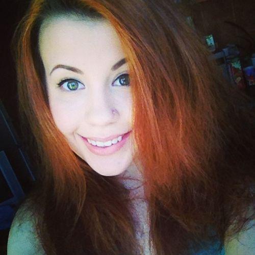 улыбашка рыжая собралась к хорошему моему
