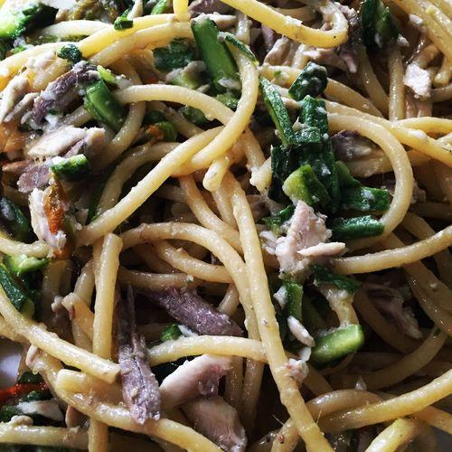 Alice & Pecorino tra le zucchine romane in fiore... Foodporn Italian Food