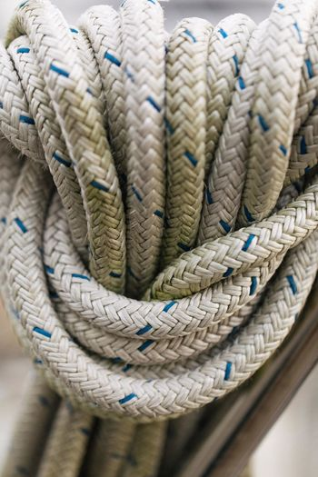 Close-up Day Harbor Industrial Ship Moored Nautical Equipment Nautical Vessel No People Outdoors Rope Sailing Sailing Ship Ship Strength Thick Tied Knot Tied Up