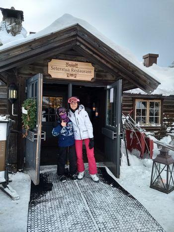 Knettsetra Restaurant Great Food! Skiing 🎿 Winter Snow Trysil Happy :) Happy Kids