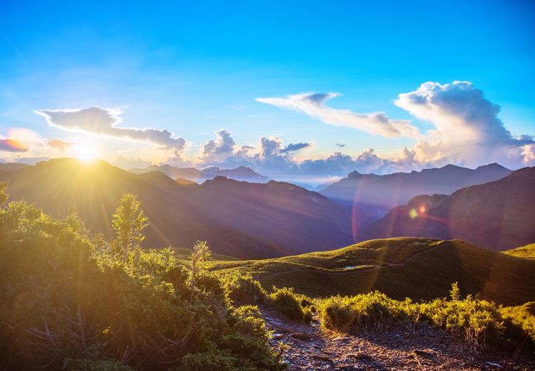 Mountain Nature Landscape Sunlight Taiwan 合歡