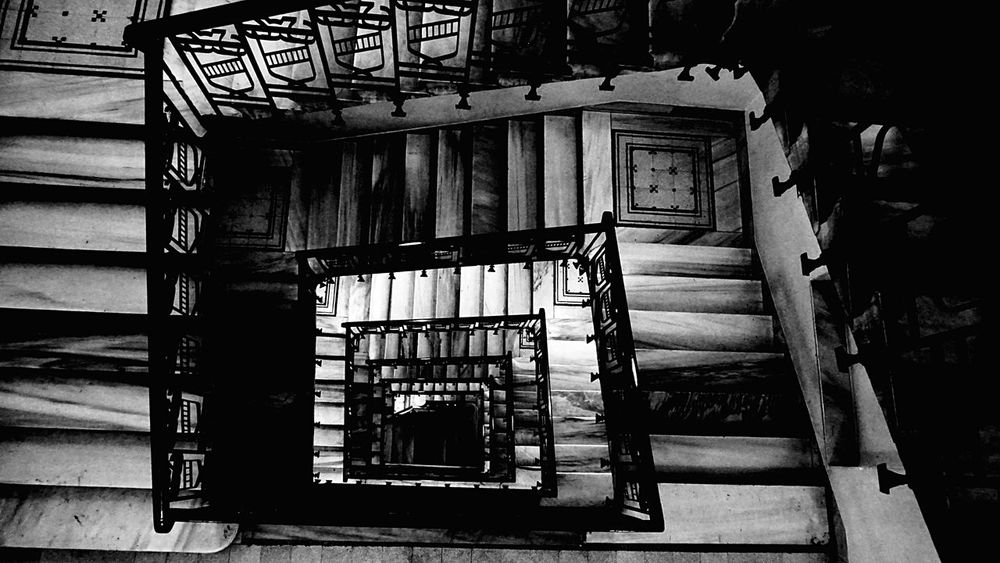 Stairways Open Edit Blackandwhite Photography Lookingdown From My Point Of View The Architect - 2015 EyeEm Awards Sony A6000 Blackandwhite Beauty In Ordinary Things EyeZoom