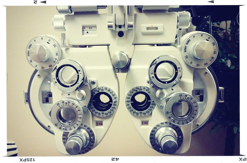 Waiting For My Optomitrist Cool Stuff Check Up Eyes