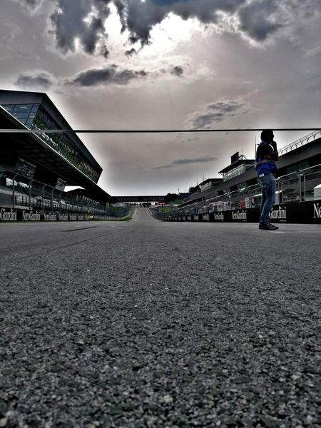 Cloud - Sky Sky People Race Race Track Racetrack Race Day Grid HDR