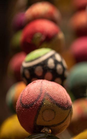 Close-up of balls