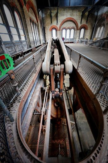 Crossness Pumping Station Metal Industry Machinery Indoors  No People Factory Equipment
