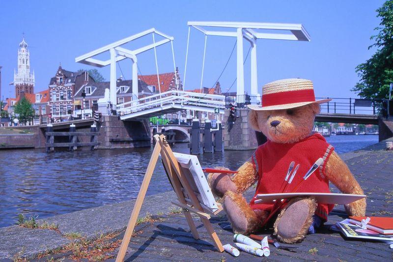 Teddy bear is