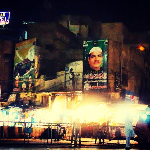 Cityscapes Lahore Nightphotography Streetphotography Election Poster