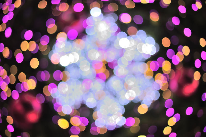 Abstract Light Bokeh Background, Vector Illustration. Abstract Abundance Backgrounds Beauty In Nature Blue Close-up Colorful Defocused Focus On Foreground Full Frame Glowing Illuminated Lens Flare Light Lighting Equipment Multi Colored Nature No People Outdoors Pink Color Purple Selective Focus Sky