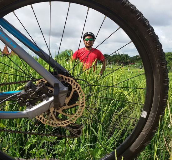 Its me 😎 Cycling Lover Rice Field CyclingUnites