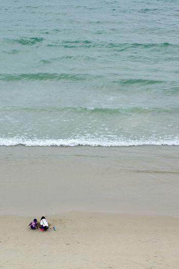 Seaside MyWifeAndSon