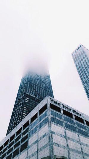 Chicago Chicago Architecture Chicagoprimeshots Chicagoshots Water Tower John Hancock Building