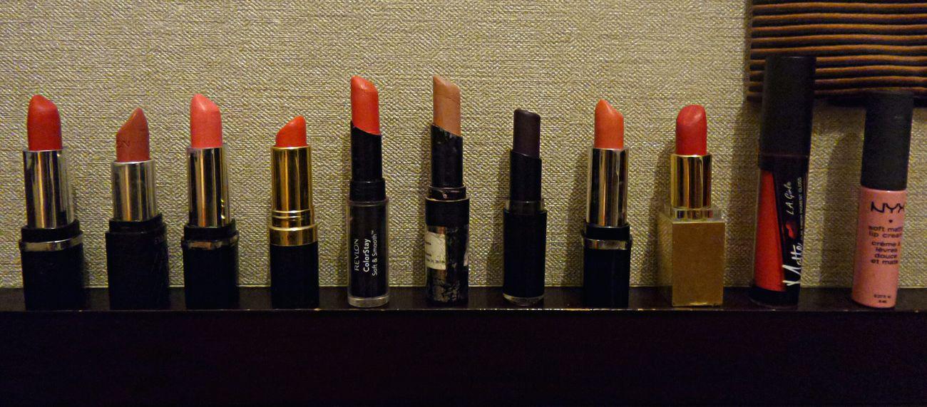 Which color are you ? 💋💄 Mine Lipstick Matte Lipstick Lip Cream Revlon Colorstay Revlon Nyxlipstick  Wetnwildlipstick Chanel Lipstick Lip Gloss