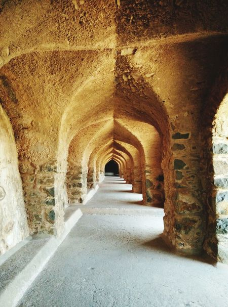 Historical Sights Cool Oneplus X Onepluslife Arch Architecture History The Way Forward Smartphonephotography MyClick Indoors  Ancient Built Structure India Incredible India