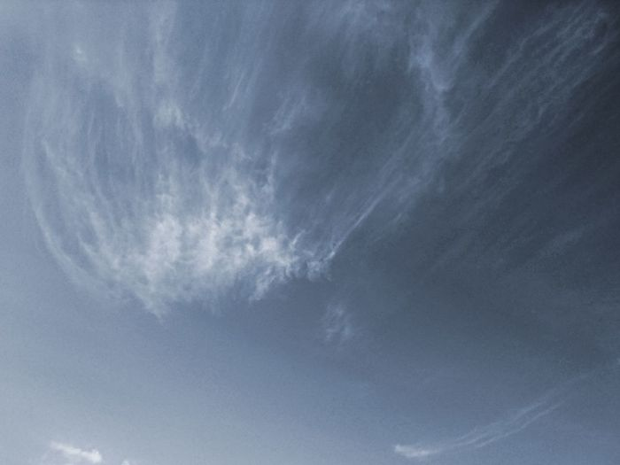 Linear Clouds Clouds And Sky Clouds Sky Background Spring Beauty In Nature Weather Backgrounds Blue Sky Only Textured  Sky Close-up Cloud - Sky